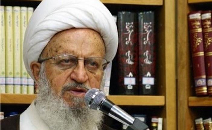 امر به معروف آیت الله مکارم شیرازی خطاب به آقای روحانی