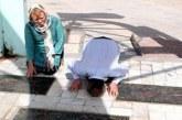 اقدام جالب توریست خارجی در مزار شهدای نهاوند (عکس)